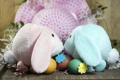 Décorations de Pâques pour le décor à la maison pour les vacances de ressort Image stock