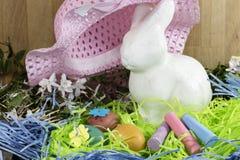 Décorations de Pâques pour le décor à la maison pour les vacances de ressort Photographie stock libre de droits