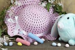 Décorations de Pâques pour le décor à la maison pour les vacances de ressort Photo libre de droits