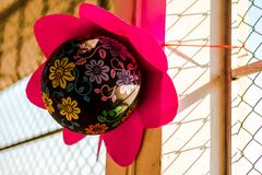 Décorations de partie de ballon photographie stock libre de droits