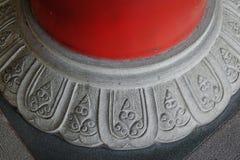 Décorations de temple bouddhiste à Singapour Photo stock