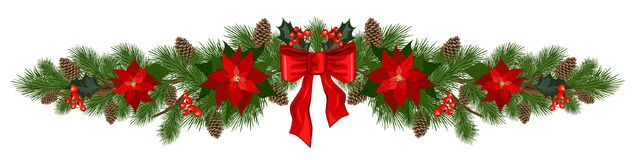 Décorations de vacances de Noël illustration libre de droits