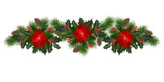 Décorations de vacances de Noël Image stock