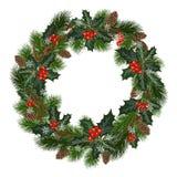 Décorations de vacances de Noël Images libres de droits