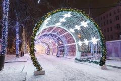 Décorations et architecture de Moscou image stock