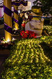 Décorations extérieures de Noël Photos stock