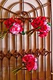 Décorations florales Image libre de droits