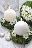 Décorations fraîches de ressort pour la première communion, Photos stock