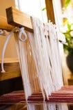 Décorations lettons de tricotage Photographie stock