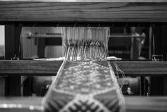 Décorations lettons de tricotage Photographie stock libre de droits