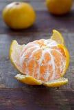 Décorations, mandarines et cannelle de Noël d'hiver Image libre de droits