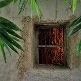 Décorations naturelles de maison de boue sujanmap Photographie stock
