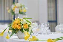 Décorations pour le banquet Image stock