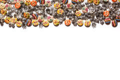 Décorations pour les vêtements - beaux boutons pour des vêtements de haute couture Photo stock