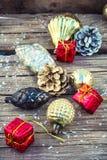 Décorations pour Noël Photo stock