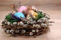 Décorations pour Pâques Photo stock