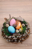 Décorations pour Pâques Photos libres de droits