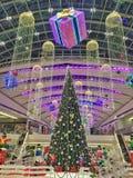 Décorations spectaculaires de Noël Images stock