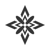 décorez la conception fleurie de style illustration de vecteur