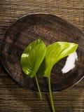 décorez la table photographie stock