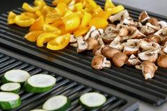 Découpés en tranches légumes Photos stock