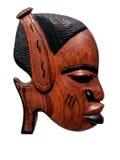 Découpage africain en bois Photos libres de droits