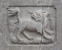 Découpage antique de Chinois Photo stock