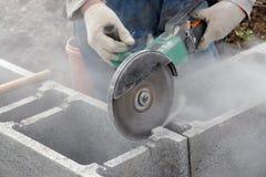 Découpage concret photos stock