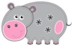 Découpage d'animal de tissu. Gippo Photos stock