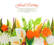 Découpage de légumes Photo libre de droits