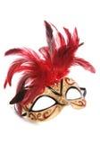 Découpage de masque de mascarade Photographie stock libre de droits