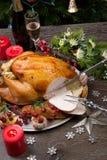 Découpage de Noël rustique Turquie de style Photos stock