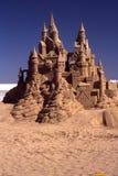 Découpage de sable de château de sable Photo stock