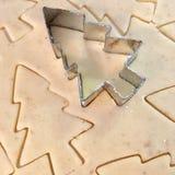 Découpage des biscuits Images libres de droits