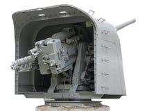 découpage du canon 3d au-dessus de blanc de bateau d'ombre de rendu de chemin Photographie stock