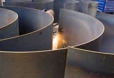 Découpage en métal Image stock