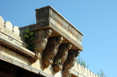 Découpage en pierre chez Sarkhej Roja, Ahmedabad, Inde Photographie stock libre de droits