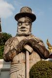Découpage en pierre de gardiens géants. Photos libres de droits