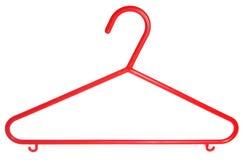 Découpage en plastique de bride de fixation de couche des enfants rouges Image libre de droits