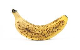 Découpage mûr de banane Photos stock