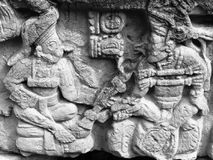 Découpage maya Image stock