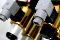 Découpages électriques image stock