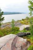 Découpages de roche chez Alta Photographie stock libre de droits