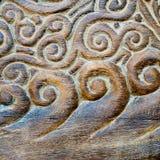 Découpages du bois faits main Photographie stock