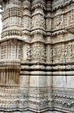 Découpant au temple de Jagdish, udaipur Images libres de droits