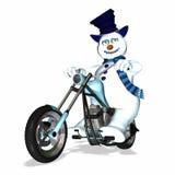 Découpeur 1 de bonhomme de neige illustration libre de droits