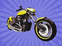 Découpeur jaune de vecteur illustration stock