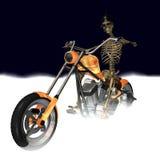 Découpeur squelettique 1 illustration stock