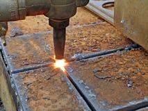 Découpeuse de gaz Image stock