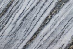 Découpez le marbre en tranches dans la roche Images libres de droits